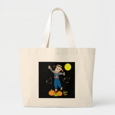 jasmineflynn Scarecrow 1 large tote bag