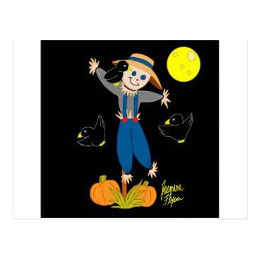 jasmineflynn Scarecrow 1 postcard