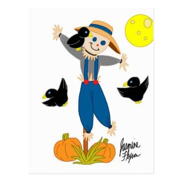 jasmineflynn Scarecrow 2 postcard