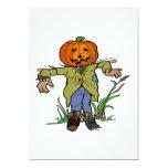 Scarecrow 5x7 Paper Invitation Card