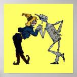 Scarecrow and Tin Man Canvas Print