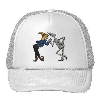 Scarecrow and Tin Man Hats