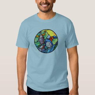 Scarecrow and Tin Man Oz T-Shirt