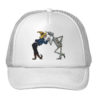 Scarecrow and Tin Man Trucker Hat