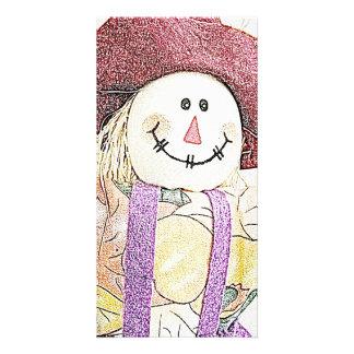 Scarecrow Bookmark Photo Cards