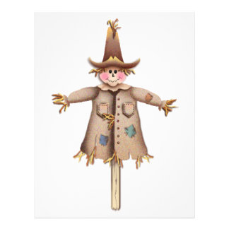 SCARECROW by SHARON SHARPE Personalized Letterhead
