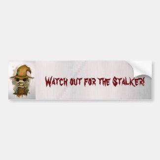 scarecrow car bumper sticker
