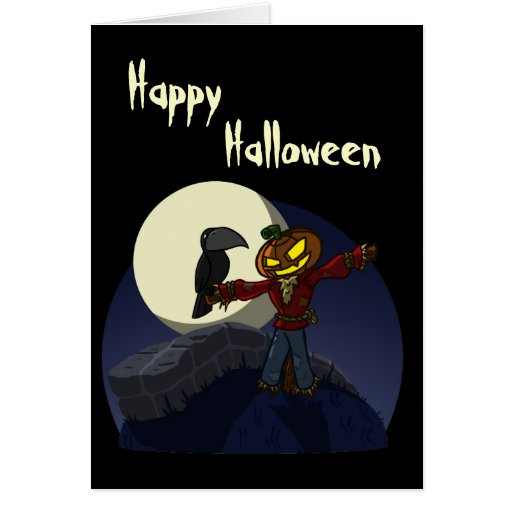 Scarecrow Card