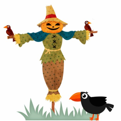 Cute scarecrow cartoon scarecrow cartoon cut outs