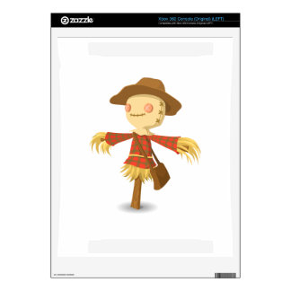 Scarecrow cartoon decal for xbox 360