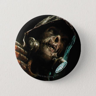 Scarecrow Character Art Pinback Button