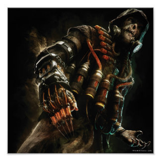 Scarecrow Character Art Poster