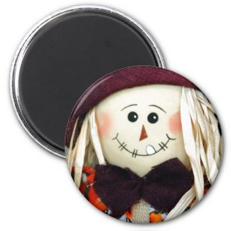 Scarecrow Close Up magnet