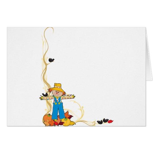 Scarecrow Corner Card