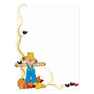 Scarecrow Corner Postcard