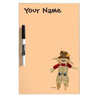 Scarecrow Customizable Dry Erase Board