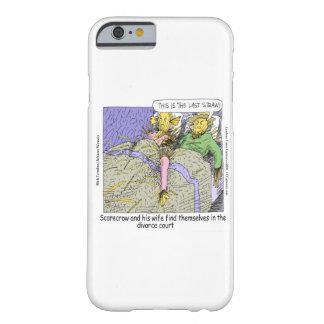 Scarecrow Divorce Funny iPhone 6 Case