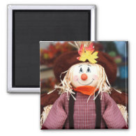 Scarecrow Doll Magnet