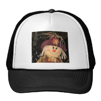 Scarecrow Fall Autumn Art Colorful Destiny Trucker Hats