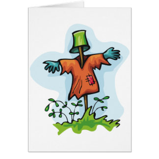 Scarecrow Greeting Cards