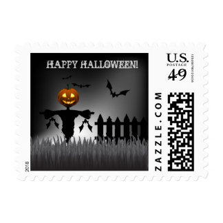 Scarecrow Halloween Postage