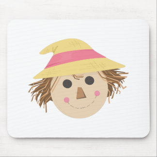 Scarecrow Head Mousepads