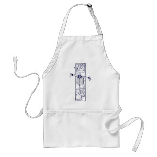 Scarecrow in the Garden Adult Apron
