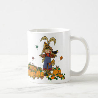 Scarecrow in the Pumpkin Patch Mug