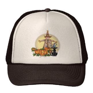 SCARECROW, JACK & CAT by SHARON SHARPE Trucker Hat