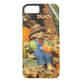Scarecrow King on Pumpkin Throne iPhone 8/7 Case