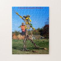 Scarecrow  Minnesota Christmas Greetings Jigsaw Puzzle