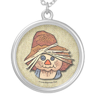 Scarecrow Personalized Necklace