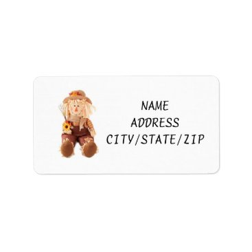 """friendshipandfun """"SCARECROW"""" OR """"FALL"""" ADDRESS LABELS"""