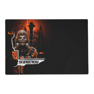 Scarecrow Orange Graphic Placemat