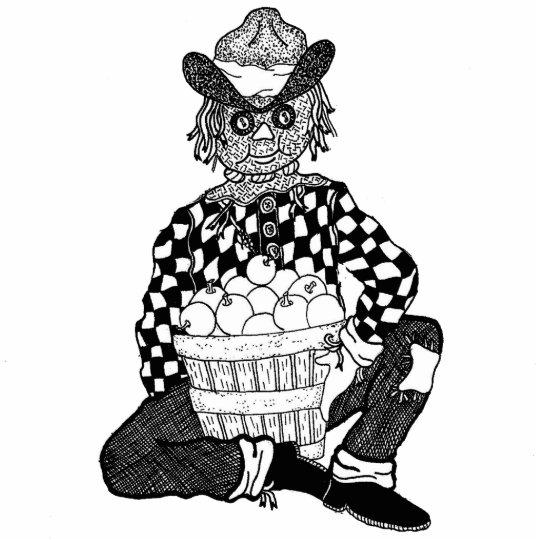 Scarecrow Ornament