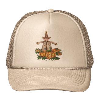 SCARECROW & PUMPKIN PATCH by SHARON SHARPE Hat