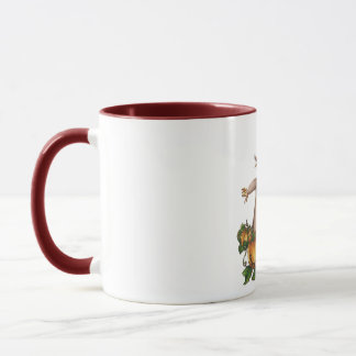 SCARECROW & PUMPKIN PATCH by SHARON SHARPE Mug