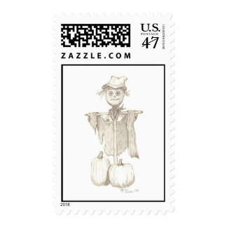 scarecrow stamp