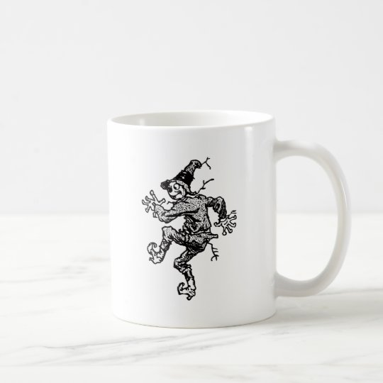 Scarecrow Striding Coffee Mug
