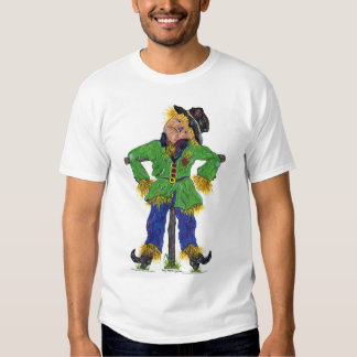 Scarecrow Watercolor  T-Shirt