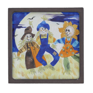 Scarecrows Dancing Gift Box