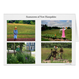 Scarecrows of New Hampshire Card
