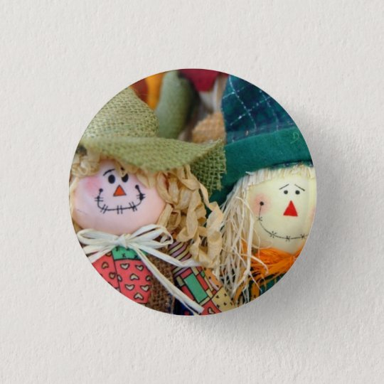 Scarecrows Pinback Button