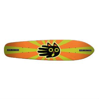 Scared Black Cat Skate Boards
