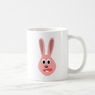 Scared Bunny Classic White Coffee Mug