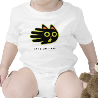 Scared Cat baby t-shirt bodysuit