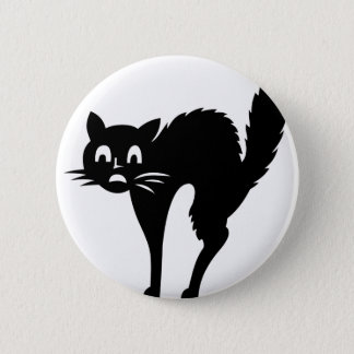 Scared Cat Button