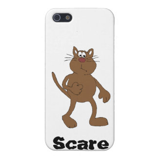 Scared Cat Case For iPhone SE/5/5s