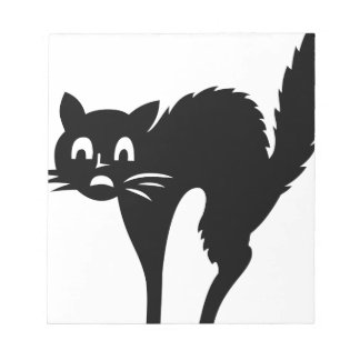 Scared Cat Notepad