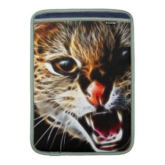 Scared catpainting MacBook air sleeves